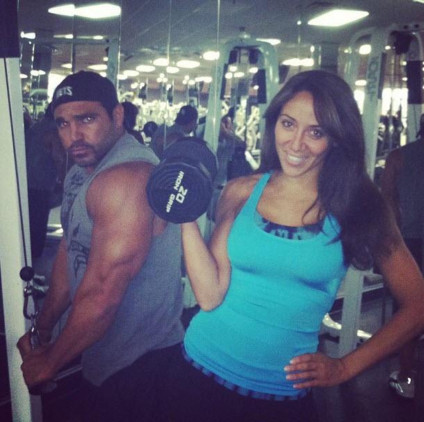 Melissa and Joe Gorga Hit the Gym Together! (PHOTO)