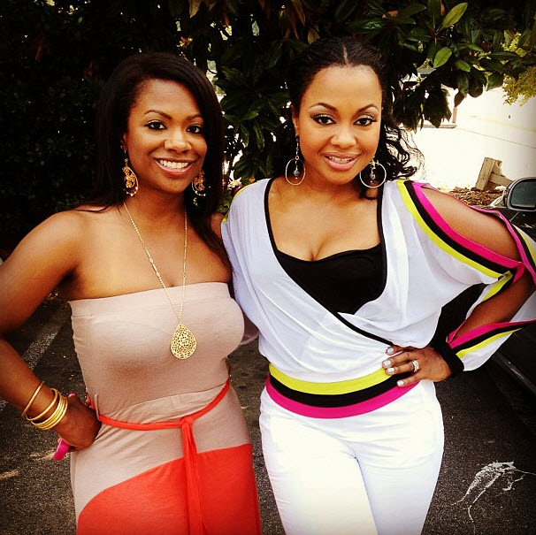 Phaedra Parks and Kandi Burruss Show Off Their Summer Style (PHOTO)