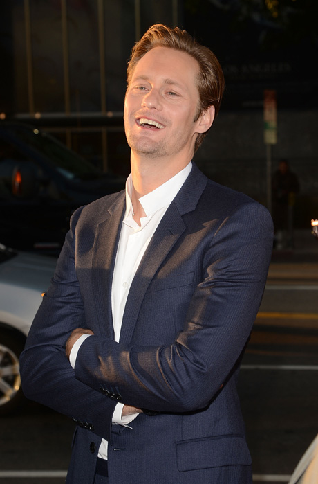 True Blood's Alexander Skarsgard Doesn't Wear a Modesty Sock Over His Penis!