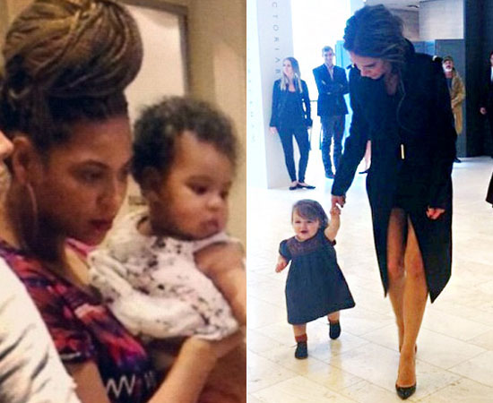Baby Blue Ivy Carter vs. Harper Beckham: Which Famous Tot Is Cuter? (PHOTOS)