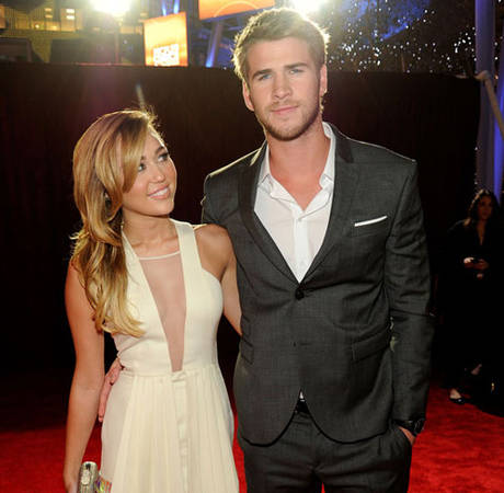 Liam Hemsworth: Fashion Designer? Miley Cyrus Checks Out NYC Labels for Hunger Games Fiance