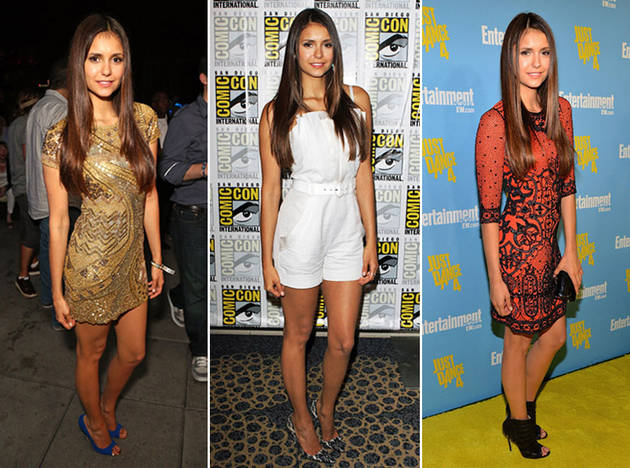 Nina Dobrev Stuns at San Diego Comic-Con — Which Look Do You Like Best?