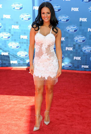 """Glee """"Absolutely Loved"""" American Idol's Pia Toscano, But Will She Be on Season 4?"""