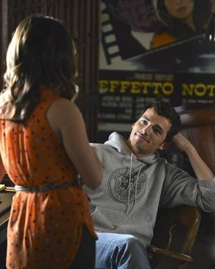 Pretty Little Liars Shocker: Did Aria Just Meet Ezra's Son?