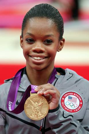 Guess Who's a Vampire Diaries Fan? Olympic Gold Medalist Gabby Douglas!