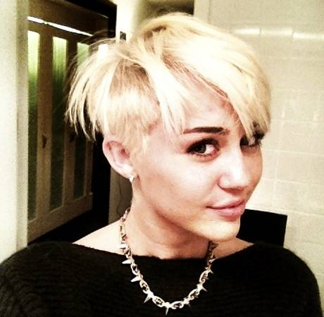 Miley Cyrus Shaves Her Head! Hot or Not? (PHOTO)