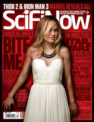 Anna Paquin Covers SciFiNow Magazine In Simple White Dress: Hot or Not? (PHOTO)