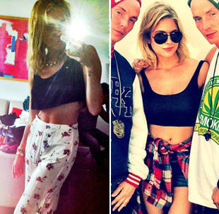 Miley Cyrus vs. Ashley Benson: Who Has the Hotter Abs? (PHOTO)