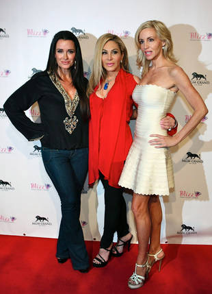 Camille Grammer Sends Her Support to Adrienne Maloof and Paul Nassif