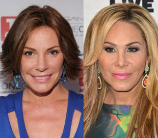 "RHONY's LuAnn Has Advice for RHOBH's Adrienne Maloof: ""Don't Fall Into the Drama"""