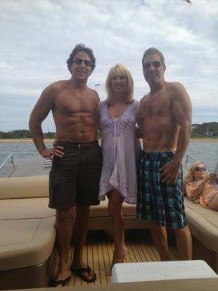RHONY's Ramona Singer Shows Off Husband Mario's Sexy Six Pack (PHOTO)