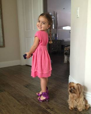 Kyle Richards' Daughter Portia Looks Pretty in Purple Heels: Cute Pic of the Day!