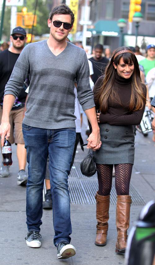 What Did Lea Michele Get Boyfriend Cory Monteith for Glee Season 4?