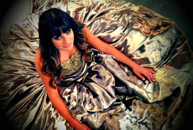 Glee Season 4: Rachel Berry's Big Makeover? Lea Michele Dons Glam Designer Ball Gowns (PHOTOS)