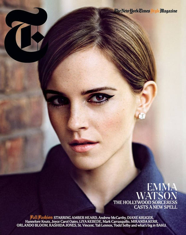 Emma Watson Is Insanely Stunning on the Cover of NYT's T Magazine (PHOTO)