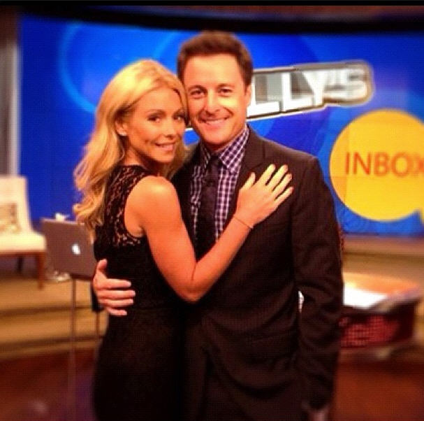 Bachelor Host Chris Harrison Co-Hosts with Kelly Ripa — Cute Pic of the Day!