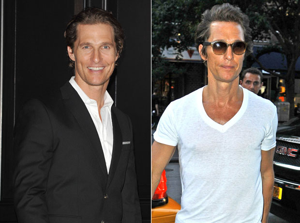 Matthew McConaughey Looks Virtually Unrecognizable in New York City (PHOTOS)