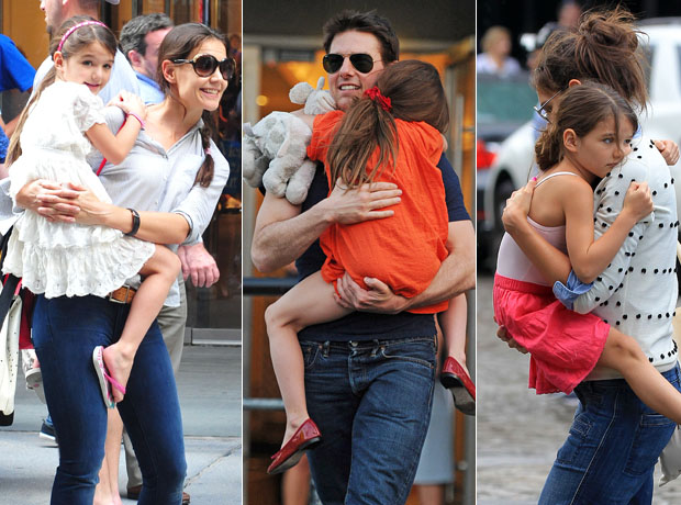 Should 6-Year-Old Suri Cruise Still Be Carried Like a Baby? (PHOTOS)