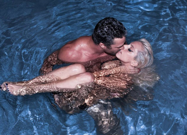 Taylor Kinney Gets Naked in a Pool With Lady Gaga — Vampire Diaries OMG Pic of the Day