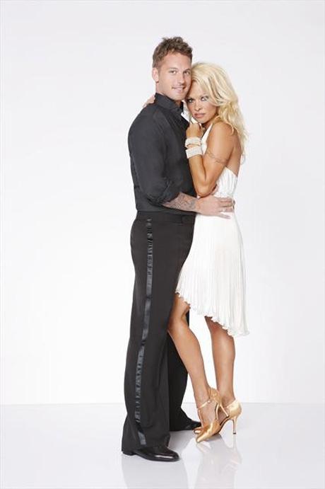 Pamela Anderson Struggles With No Sex Vows Around DWTS Pro Tristan MacManus