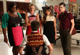 Damian McGinty Congratulates Alex Newell on His First Episode of Glee Season 4