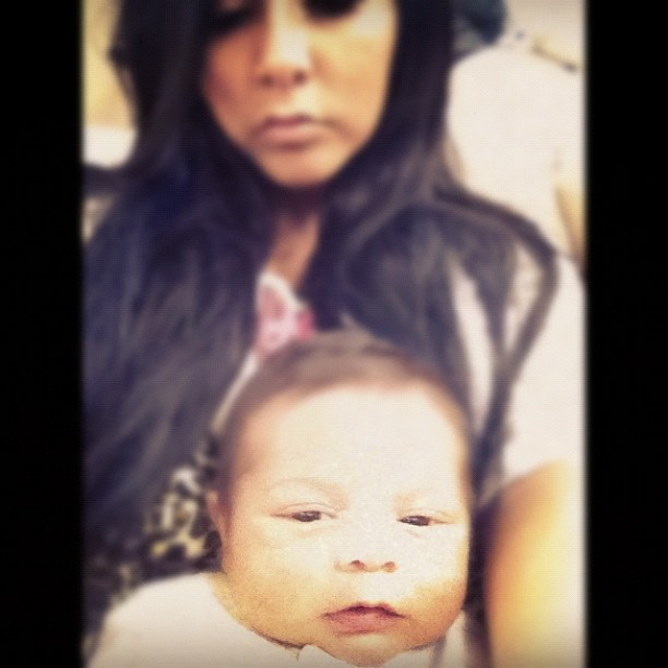 Snooki Shows Off Baby Lorenzo's Face in Adorable New Pic (PHOTO)