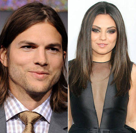 Ashton Kutcher Too Busy With Phone to Make Out With Eager Girlfriend Mila Kunis