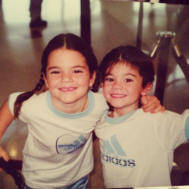 Kendall and Kylie Jenner Look Adorable as Little Kids: Cute Pic of the Day!