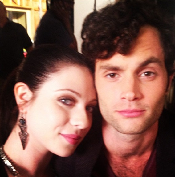 Georgina and Dan Are Up to No Good — Gossip Girl OMG Photo of the Day