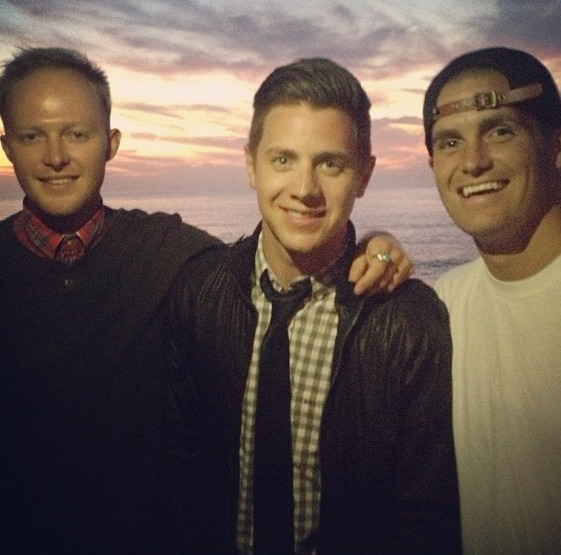 Jef Holm Parties With His People Water Bros in San Diego — Cute Pic of the Day