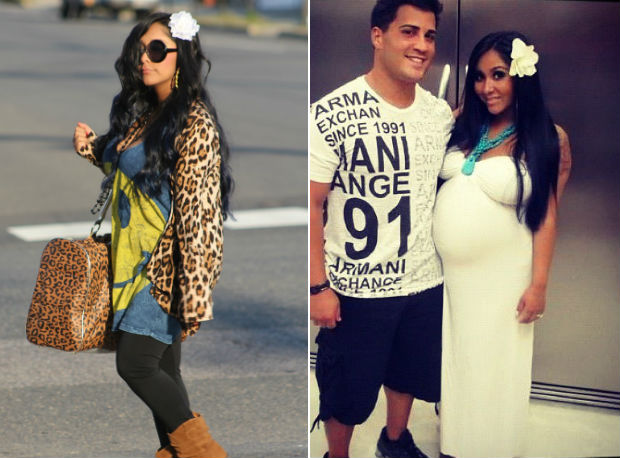 Wow: Snooki Shows Off Her Teeny-Tiny Post-Baby Body (PHOTO)