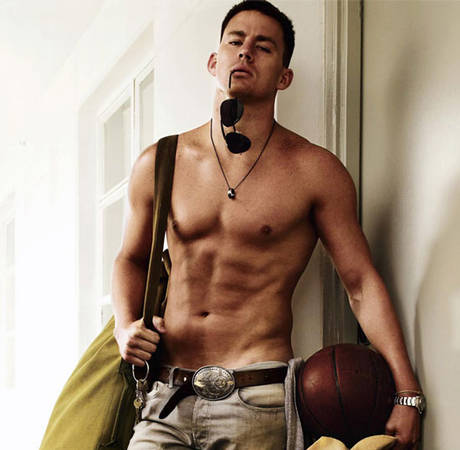 Channing Tatum Gets Naked As Soon As He Gets Home!
