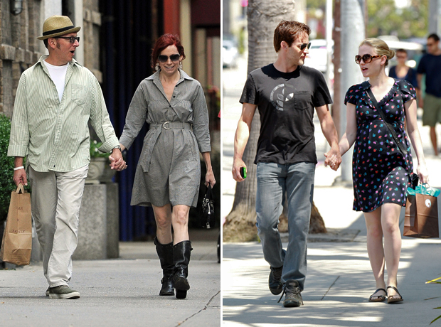 True Blood's Anna Paquin and Stephen Moyer vs. Carrie Preston and Michael Emerson: Which Couple Is Cuter? (PHOTOS)