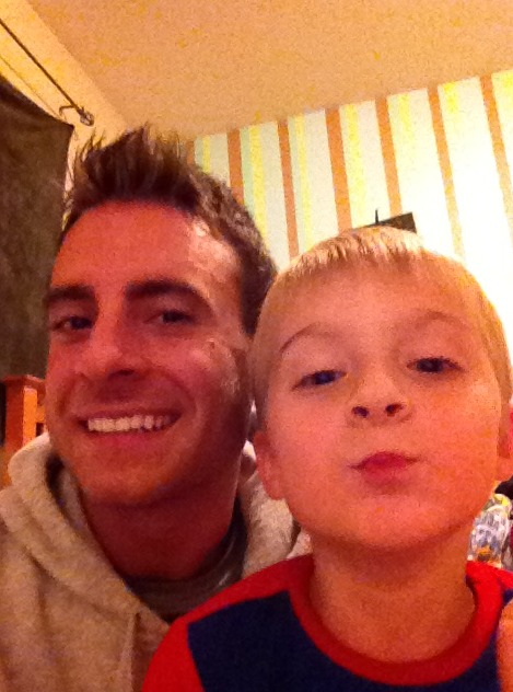 Bachelor Pad 3's Tony Pieper and His Son — OMG Photo of the Day!