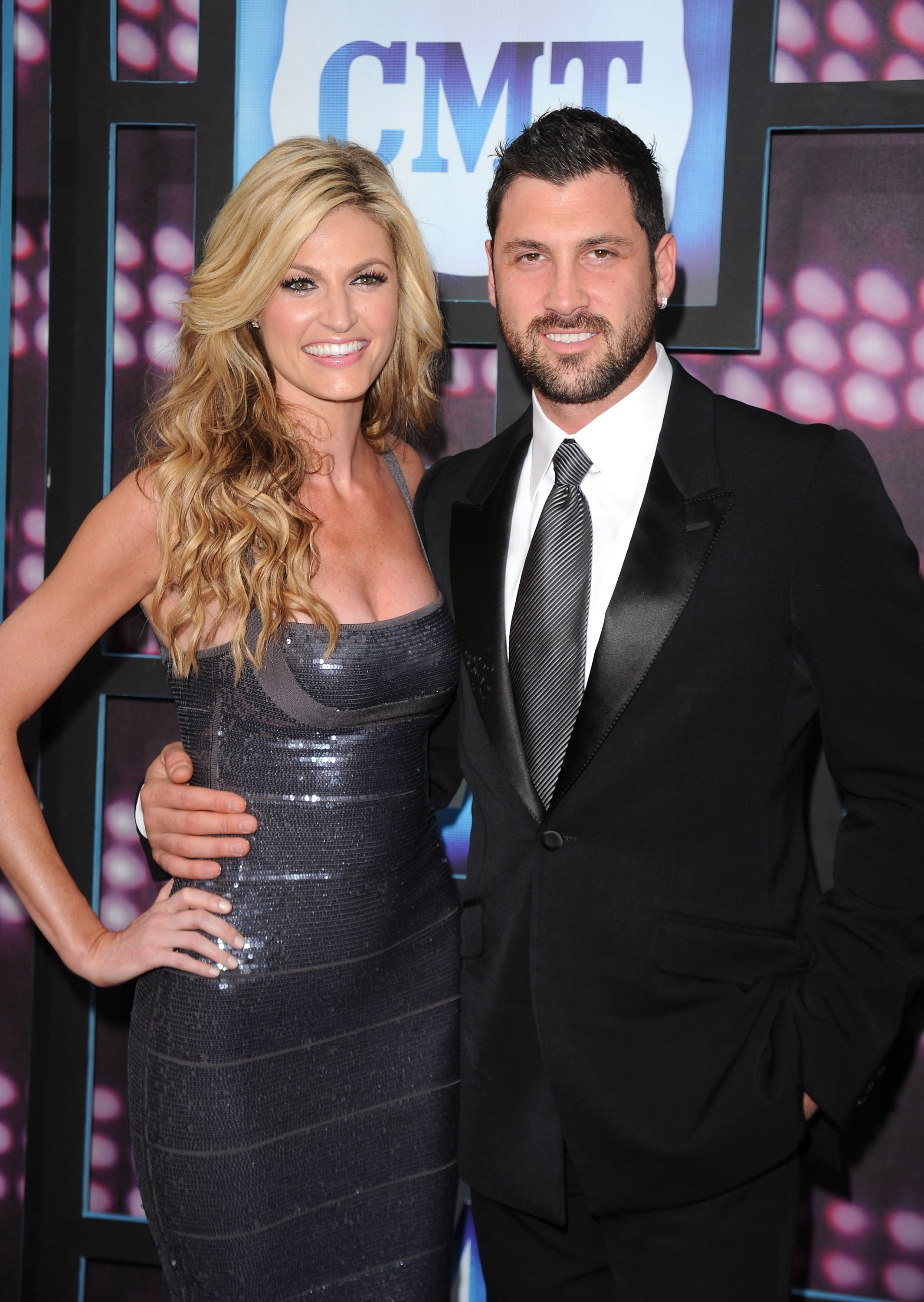 Maks and Erin Andrews