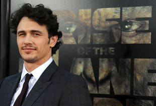 Fifty Shades of Grey Casting: James Franco Discusses the Book — Might He Play Christian Grey?