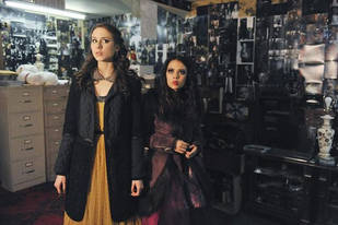 """Pretty Little Liars: Troian Bellisario On The """"Rift Between Aria and Spencer"""" and Mona and Spencer's """"Game of Chess"""""""