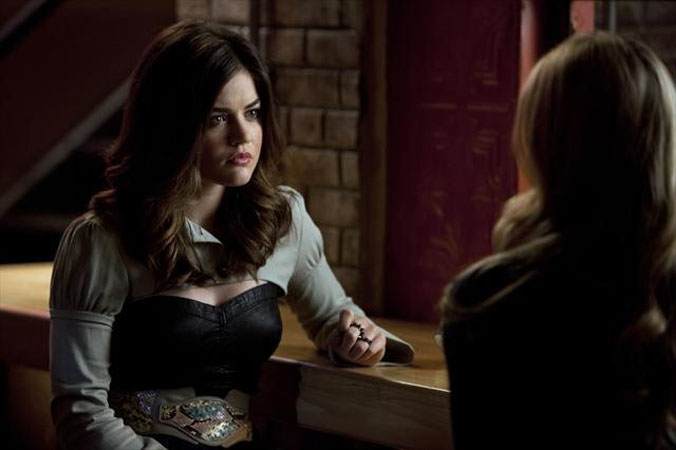 Pretty Little Liars Season 3B Spoilers: More Aria-[SPOILER] Scenes Coming Up