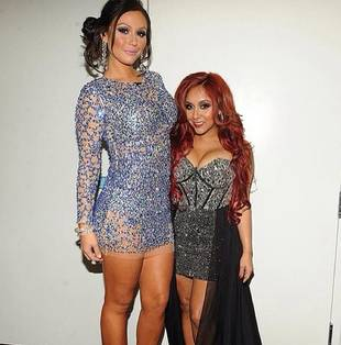 Snooki vs. JWOWW: Whose New Year's Eve Look Is Hotter? (PHOTO)