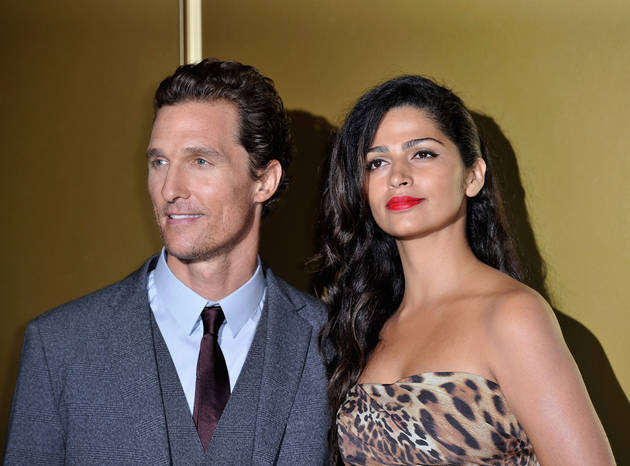 "Matthew McConaughey on Being a Dad: ""I'm Not Changing the Diapers"""