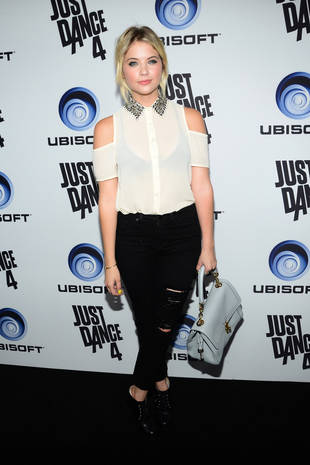 Ashley Benson is the New Face of Faviana — Watch Her Model Dresses! (VIDEO)