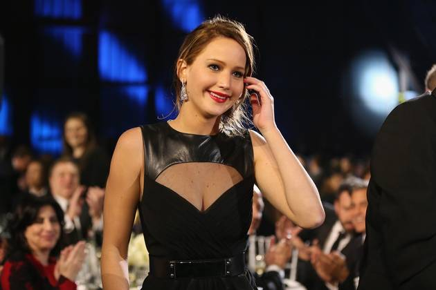 Which News Reporter Checked Out Jennifer Lawrence's Rack on Camera? (VIDEO)