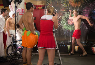 "Glee's Guys on ""Naked"" Shirtless Scenes: How Did They Prepare?"