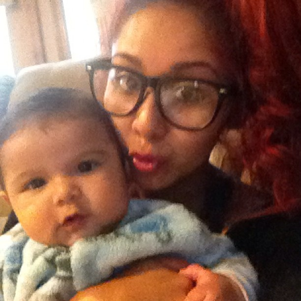 Snooki and Lorenzo Are Basically Twins! Check Out Their Latest Adorable Pic! (PHOTO)