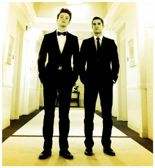 Kurt and Blaine at the Glee Wedding — Are They Back Together? (PHOTO)