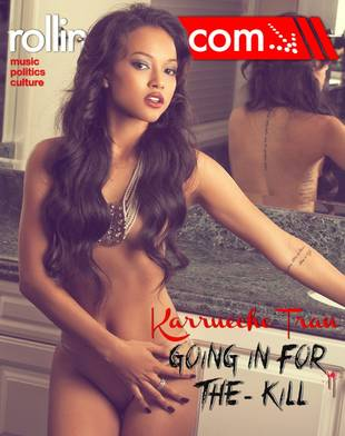 """Karrueche Tran on Being The Other Woman in Chris Brown and Rihanna Drama: """"It Was Very Hard"""""""
