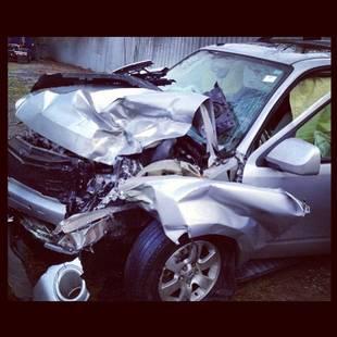 Kris Allen Shares Shocking Car Crash Photos With Fans on Instagram (PHOTO)