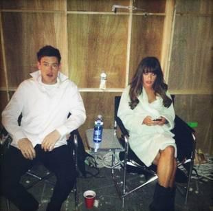Rachel and Finn's Tender Wedding Reunion — Did She Catch the Bouquet? (PHOTO)