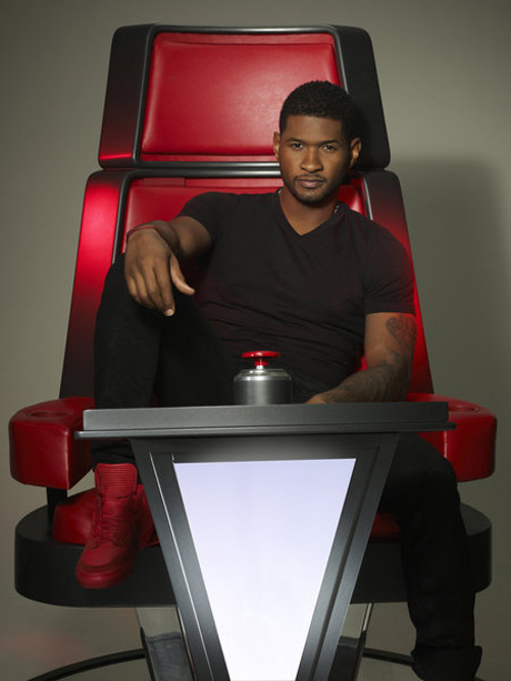 "Usher Talks The Voice Season 4 Coaches: ""We Really Do Get Along, and Then We Don't"""