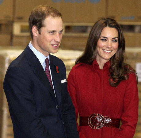 How Did Prince William and Kate Middleton Spend New Year's 2013?